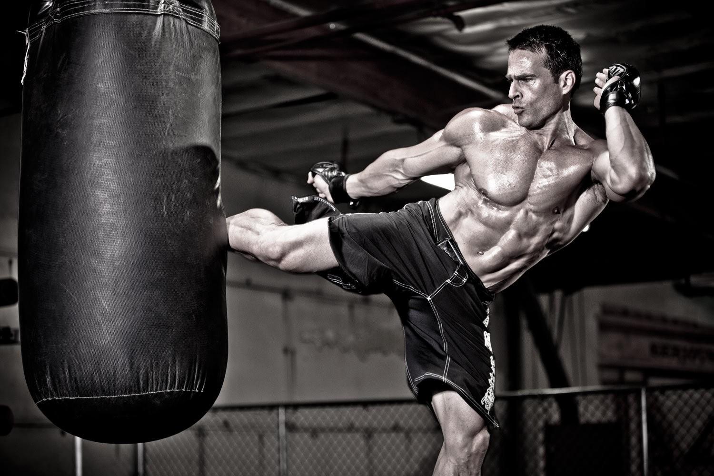 Gorilla Pump Kick Boxer